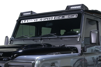 Land Rover Defender Carbon Roof Light Bar