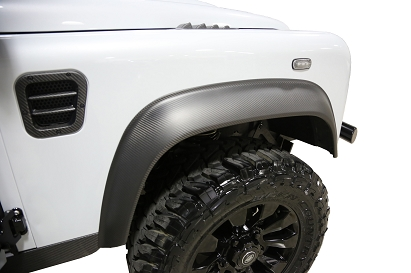 Land Rover Defender Carbon Fender Flares (Set of 4)