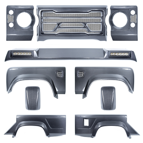 Land Rover Defender 110 COMPLETE Carbon Body Kit