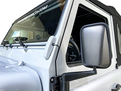 Land Rover Defender Carbon Mirror Caps (Pair)