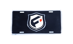 Fusion License Plate Insert